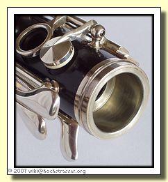 Marigaux R.S. Symphonie - metal lined socket