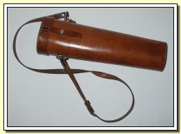 The leather quiver