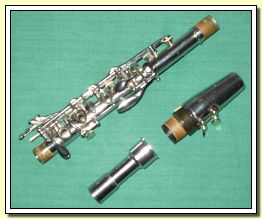 Upper joint with mouthpiece